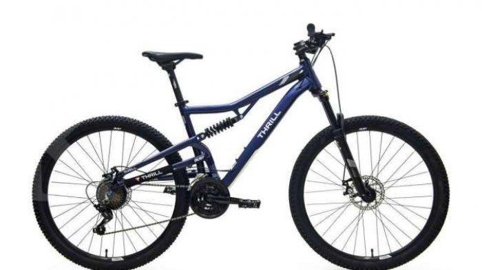 Harga Sepeda Gunung Thrill Oust T120 3.5, Tampil Keren Pas di Kantong