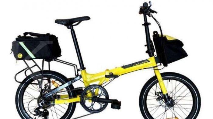 ILUSTRASI. Sepeda lipat Police Texas edisi B2W 2021