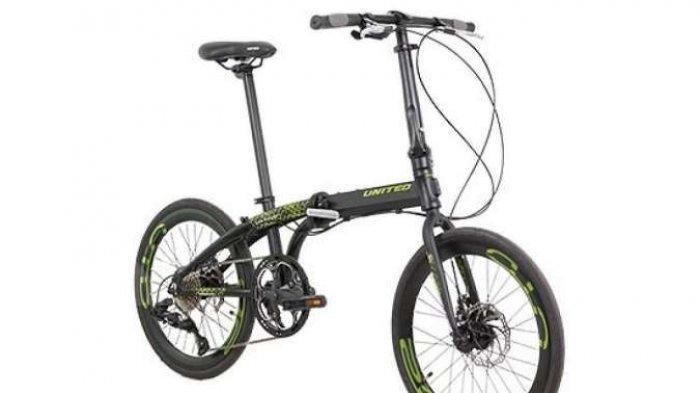 Kabar Gembira! Harga Sepeda Lipat United Nigma 10S 2020 Turun, Tertarik Membeli?
