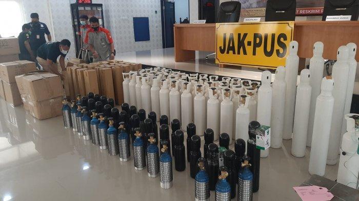 Polisi Tangkap Penjual Tabung Oksigen yang Nekat Naikan Harga Saat PPKM, Pelaku Untung Rp300 Juta