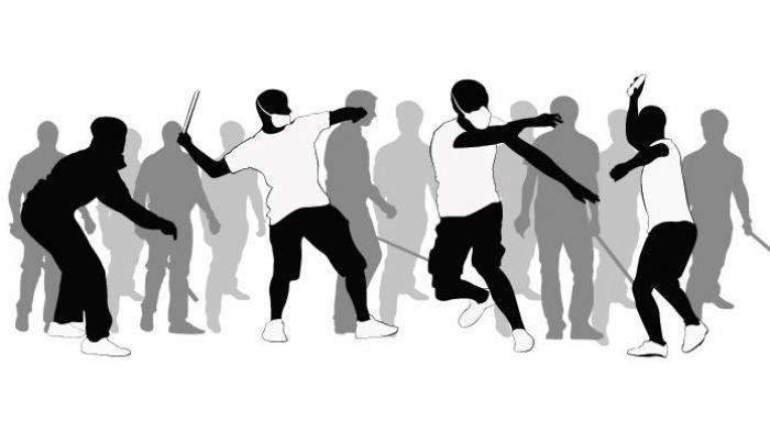Polisi Pergoki Remaja yang Hendak Tawuran di Jembatan Merah Tangerang, Amankan Puluhan Senjata Tajam