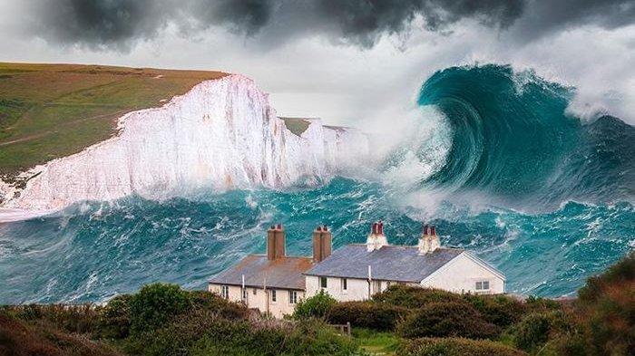 7 Fakta Tsunami, Ditandai Gempa hingga Kecepatan Gelombang Melampaui Pesawat Jet