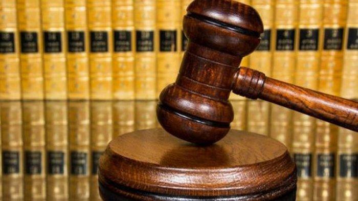 Ilustrasi sidang pengadilan.
