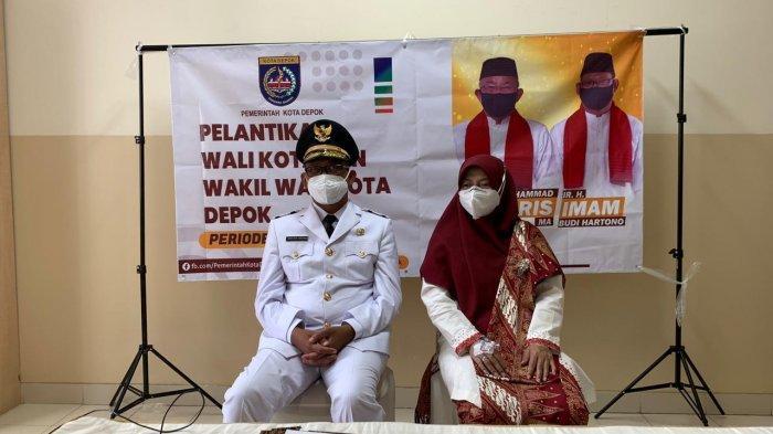 Masih Jalani Isolasi Covid-19, Imam Budi Hartono Dilantik Jadi di Wakil Wali Kota Depok di RS