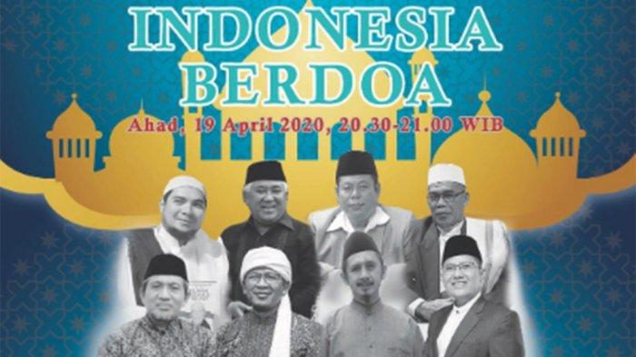 Saksikan Live Streaming Indonesia Berdoa di Indosiar Malam Ini, Diisi Tokoh Ulama Nasional