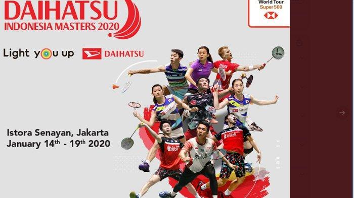 Indonesia Masters 2020: 20 Wakil Indonesia, 7 Jadi Unggulan, Uji Konsistensi Marcus/Kevin