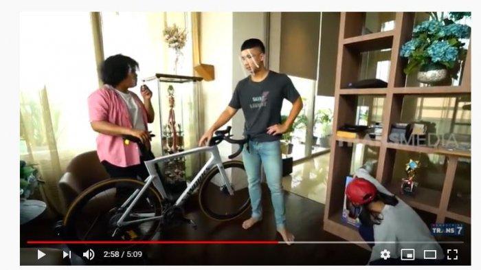 Harga Satu Sepeda Indra Priawan Suami Nikita Willy Capai Ratusan Juta, Marshel: Dapet Mobil Dua!