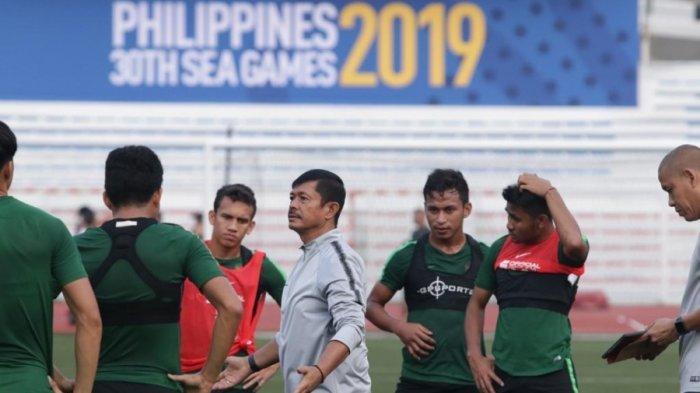 Fokus Recovery, Indra Sjafri Pastikan Timnya Siap Hadapi Myanmar di Semfinal SEA Games 2019
