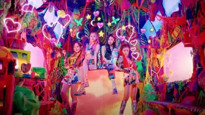 Ini Lirik dan Video Klip Lagu Black Mamba - Aespa, Girl Band Korea Baru Asuhan SM Entertainment