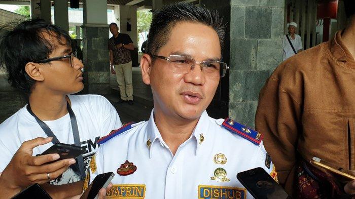Kepala Dinas Perhubungan DKI Jakarta Syafrin Liputo saat ditemui di Balai Kota, Gambir, Jakarta Pusat, Kamis (14/11/2019).