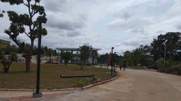 Instrumen di Alun-Alun Kota Depok mulai rusak meski baru diresmikan satu hari.