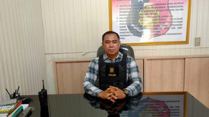 Kanit Reskrim Polsek Makasar Iptu Mochamad Zen saat memberi keterangan di Polsek Makasar, Jakarta Timur, Senin (28/12/2020).