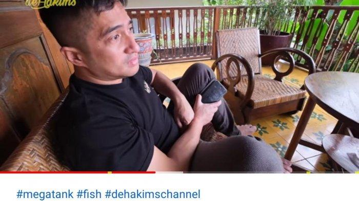 Masih Syok Puluhan Ikannya Mati Masal, Irfan Hakim Menangis: Jangan Terlalu Banggain Dunia