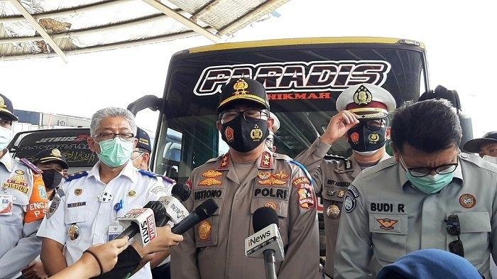 H-2 Libur Panjang Akhir Pekan, Kakorlantas Tinjau Terminal Terpadu Pulogebang