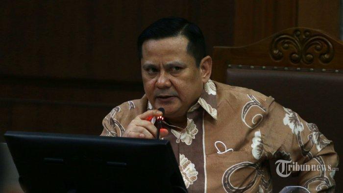 Terdakwa kasus suap penghapusan red notice Djoko Tjandra, Irjen Pol Napoleon Bonaparte menjalani sidang lanjutan di Pengadilan Tipikor Jakarta, Senin (25/1/2021).