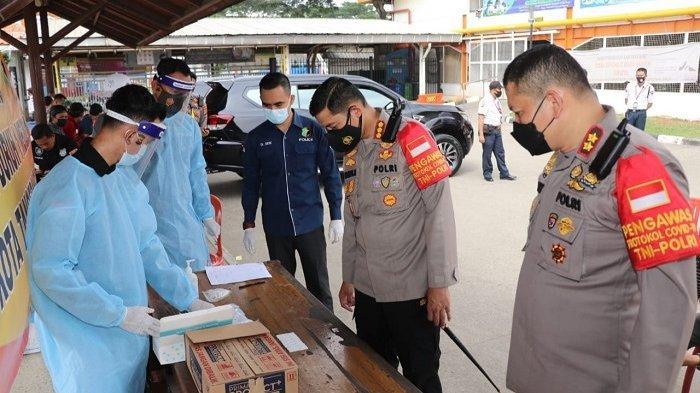Kapolda Banten Tinjau May Day di Kabupaten Tangerang, Buruh Diwajibkan Tes Antigen Sebelum Aksi