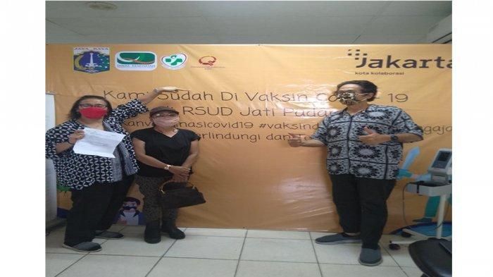 Gandengan Ormas dan Karang Taruna, GPS Dampingi Lansia di Jakarta Dapatkan Vaksinasi Covid-19