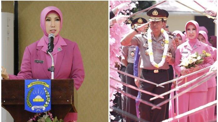 Intip Gaya Anggun Istri Irjen Wahyu Widada yang Setia Mendampingi, Suami Calon Kuat Kabareskrim