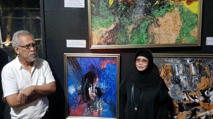 Resmikan Galeri Suara Hati, Iwan Fals Cerita Mampu Buat Ratusan Lukisan