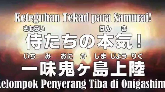 Spoiler dan Link Nonton Anime One Piece 983: Akazaya dan Ribuan Samurai Menyusup Lalu Berpisah