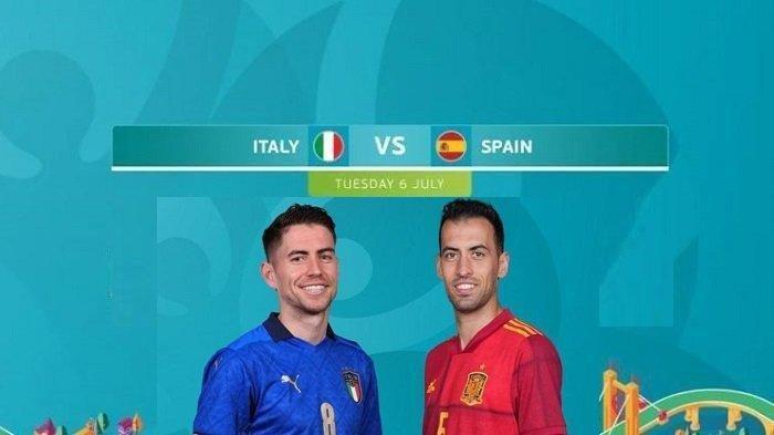 Prediksi Skor Semifinal Euro 2020 Italia vs Spanyol, Semua Bursa Jagokan Gli Azzurri ke Final