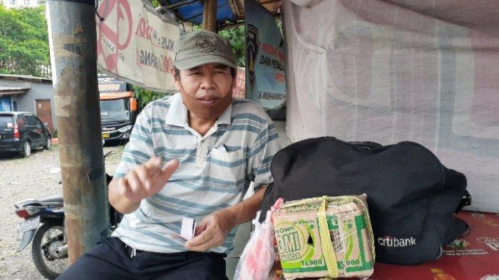 Pedagang Sayur Ini Bersikeras Tetap Mudik Demi Tuntaskan Rindu Bertemu Anak dan Istri