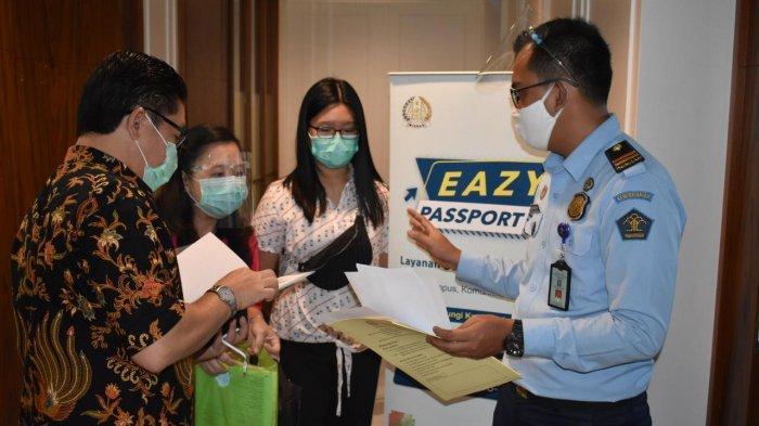 Imigrasi Jakarta Pusat Bikin Layanan Eazy Passport di Tengah Pandemi Covid-19
