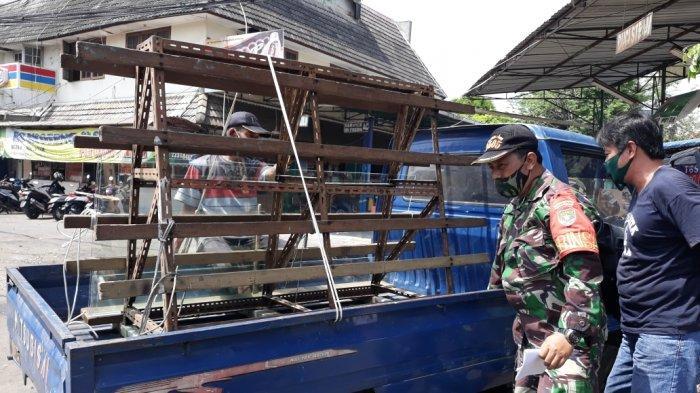 Penggantian Gerobak Pedagang yang Dirusak Oknum TNI AD Diperkirakan Butuh Waktu Lebih dari Sehari