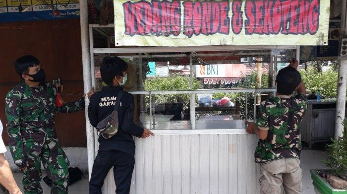 Kawasan Arundina Ciracas Turut Dirusak Oknum TNI AD, Pedagang: Mudah-mudahan Ngak Kejadian Lagi
