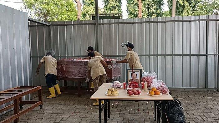 Agar Tak Ganggu Kremasi dan Antrean Jenazah Covid-19, Ibadah Misa di Krematorium Tegal Alur Dibatasi