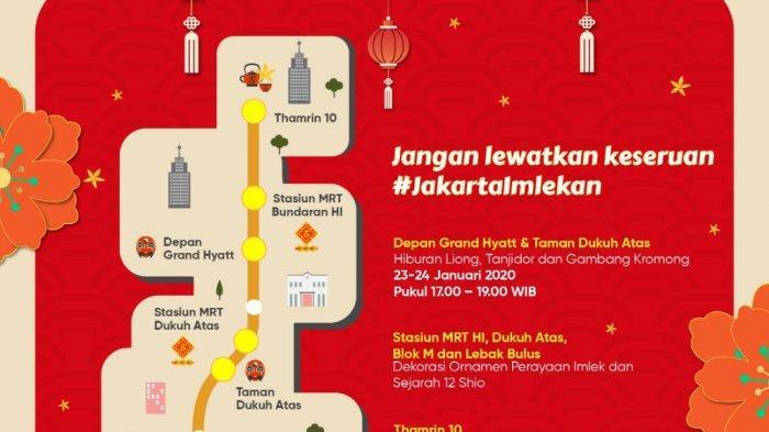 Jakarta Imlekan, Kolaborasi Pemprov DKI dan Warga Hadirkan Akulturasi Kebudayaan di Ibu Kota
