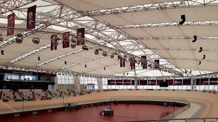 Kelembapan Kayu Siberia di Jakarta International Velodrome Harus Dijaga Usai Asian Games 2018