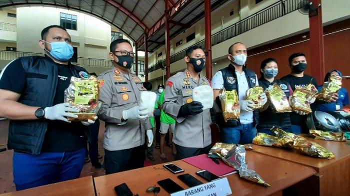 Polres Metro Jakarta Pusat Bekuk Pengedar Sabu-sabu 10 Kg saat Malam Tahun Baru