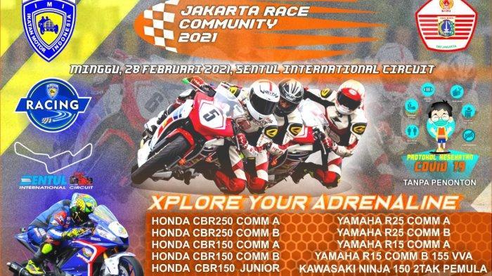 IMI DKI Jakarta Gelar Jakarta Race Community 2021 di Sirkuit Sentul