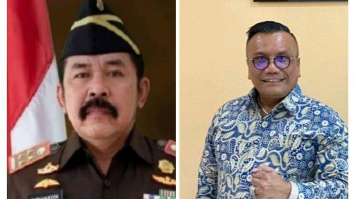 Jaksa Agung Sanitiar Burhanuddin dan Advokat Togar Situmorang.