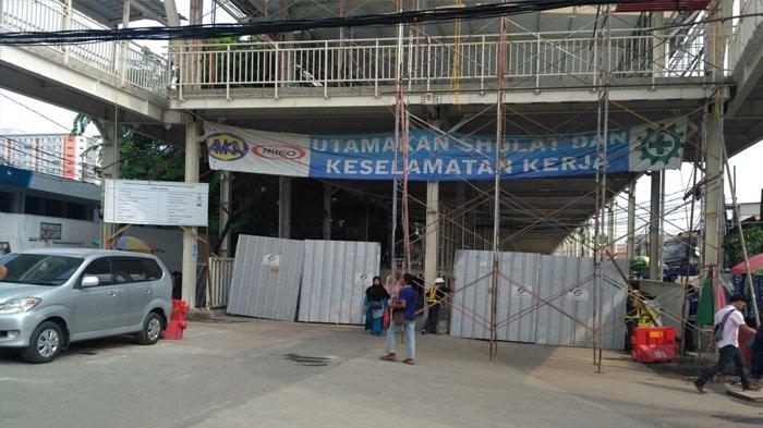 Masih Ada Pengerjaan Proyek JPM, Jalan Jatibaru Tanah Abang Ditutup Pukul 08.00-15.00 WIB