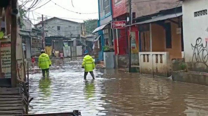 Jalan Kemang Utara IX Kembali Dilanda Banjir, Akses Jalan Lumpuh