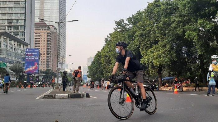 Anies Baswedan Berencana Tambah Jalur Khusus Lintasan Khusus Road Bike di Jakarta, Termasuk GBK?