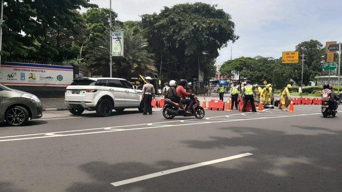 Daftar Jalan di Jakarta Pusat Ditutup karena Ada Aksi Demonstrasi