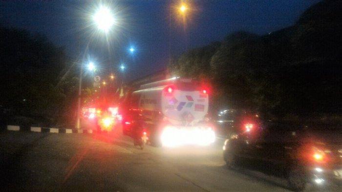 Arus Lalu Lintas di Jalan Yos Sudarso Arah Kelapa Gading Sore IniPadat Volume Kendaraan