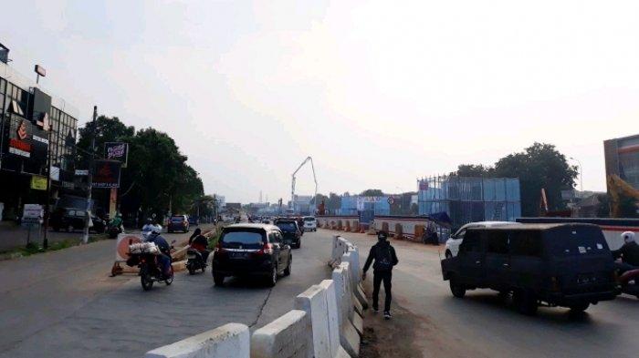 Jalan KH Noer Alie, Kalimalang, menjadi prioritas akses pemudik melintasi Kota Bekasi menuju Pantura.