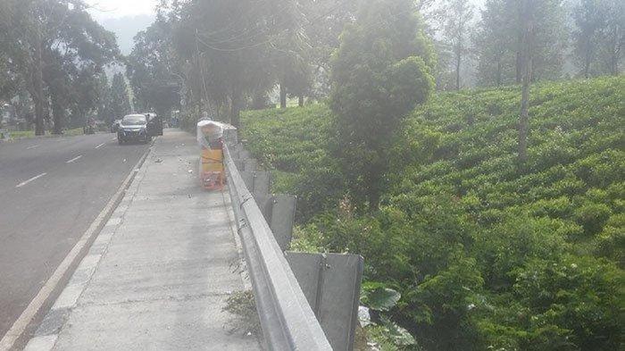 Pemandangan Tak Biasa di Jalur Puncak Pada Hari Pertama Lebaran, Pengunjung Sepi Pedagang Meradang