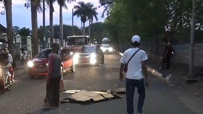 Sopir Truk Trailer dan Pengendara Sepeda Motor Terlibat Kecelakaan di Cilincing, Satu Orang Tewas
