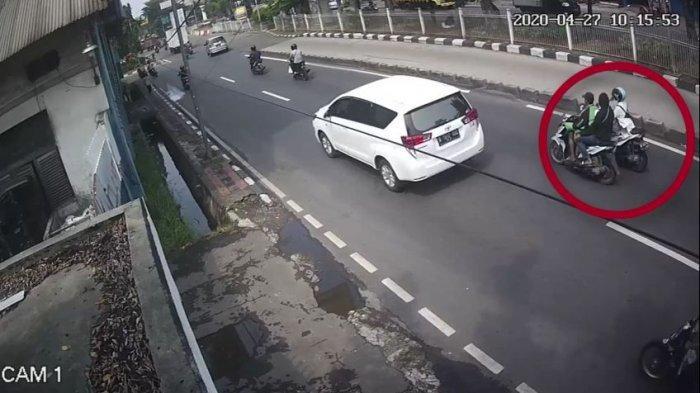 Sebelum Beraksi Jambret Berujung Pemotor Wanita Tewas Kecelakaan, Kedua Pelaku Kelilingi Roa Malaka