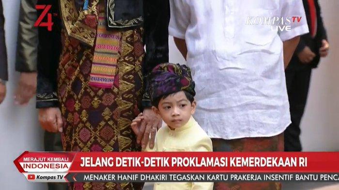 Ikut Jokowi Hadiri Persiapan Upacara HUT ke-74 RI, Jan Ethes Beri Reaksi Ini Saat Bertemu Istri AHY