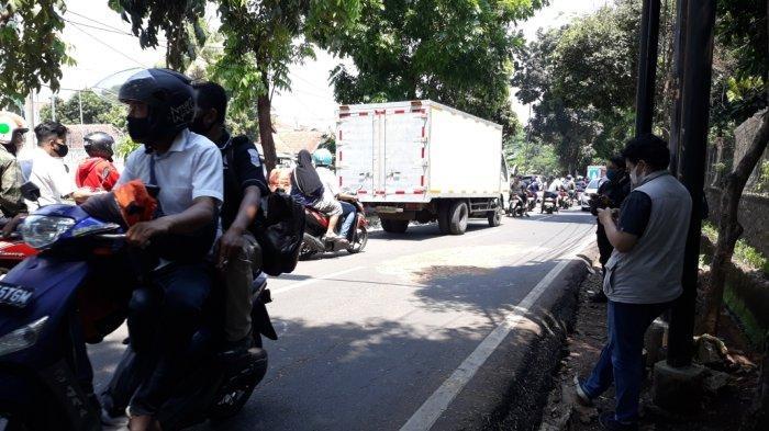 Jasad ABW saat ditemukan di Jalan Sapi Perah, Cipayung, Jakarta Timur, Kamis (17/9/2020).