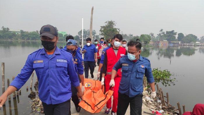 Jasad Perempuan Tanpa Identitas Ditemukan Mengambang di Situ Cipondoh Kota Tangerang
