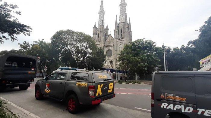Penjagaan Sudah Diperketat, Polisi Pastikan Misa Paskah di Gereja Katedral Jakarta Besok Aman