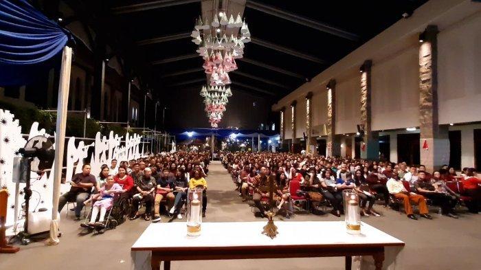Malam Misa di Gereja Katedral, Bertajuk 'Nusantara Merayakan Natal'