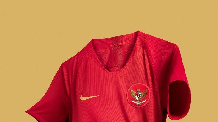 Nike Perkenalkan Jersey Baru Timnas Indonesia, Begini Tampilannya!